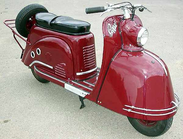 Trussty Jasmine: The 5+ German's classic scooters