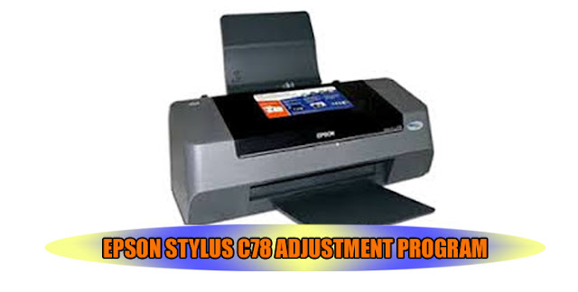 Epson Stylus C78 Printer Adjustment Program