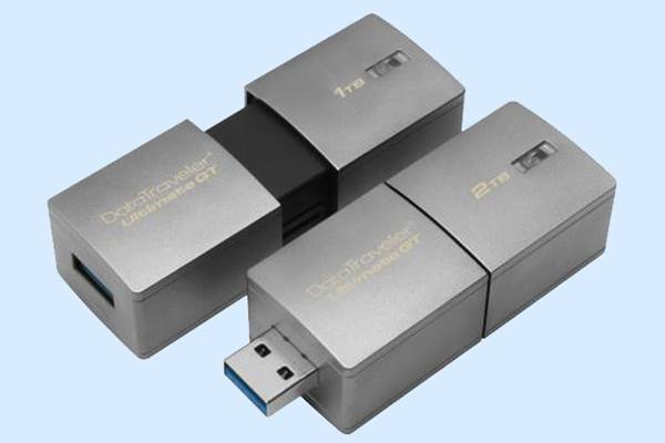 The world's new largest flash drive is the 2TB Kingston DataTraveler Ultimate GT