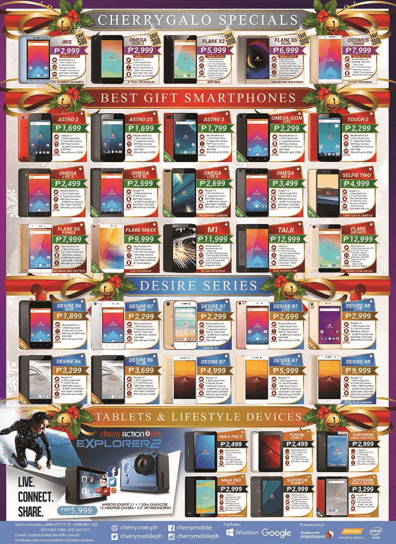 Cherry Mobile's offer this holiday season is hard to pass up!