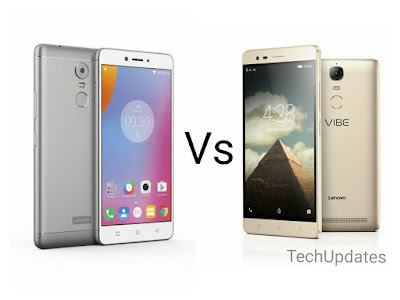 Comparison Lenovo K6 Vs Lenovo K5 Note