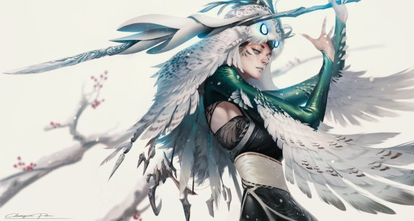 Chengwei Pan artstation arte ilustrações fantasia games league of legends