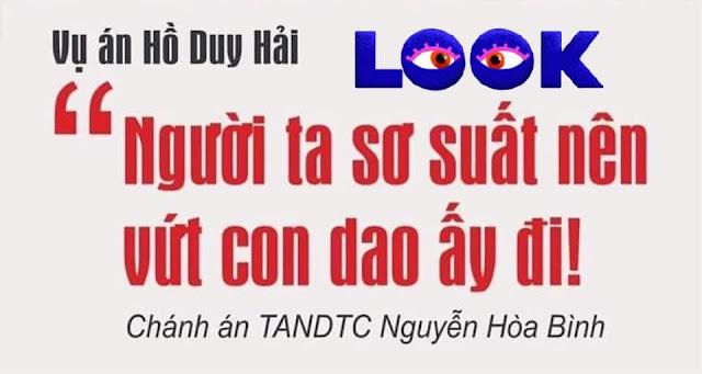 Vụ án Hồ Duy Hải, phát ngôn của ông chánh án dưới góc nhìn của một luật sư, một công dân