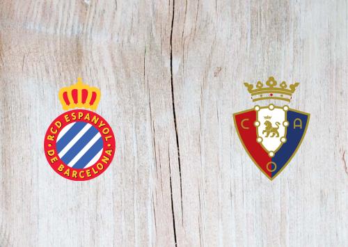 Espanyol vs Osasuna -Highlights 1 December 2019