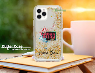 Mockup Softcase Glitter iPhone 11 Pro