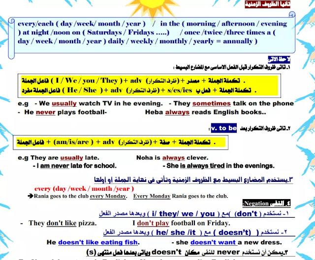 اللغة الانجليزية منهج الصف الثالث الاعدادي الترم الاول 2021