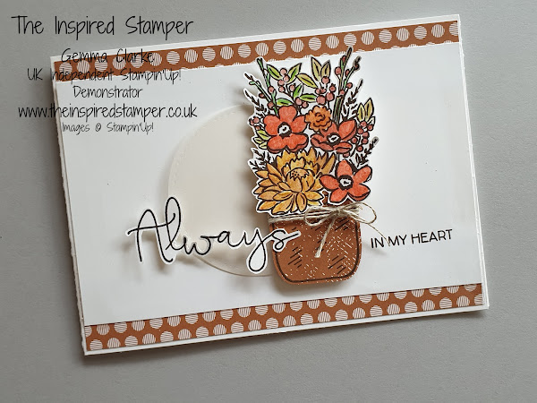 Stampin'Up! Jar of Flowers #GDP242