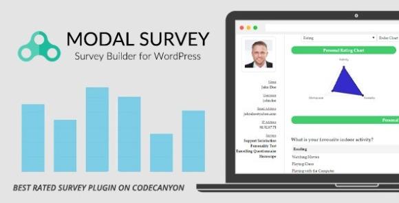 Modal Survey v2.0.1.8.7 - WordPress Poll, Survey & Quiz Plugin Free