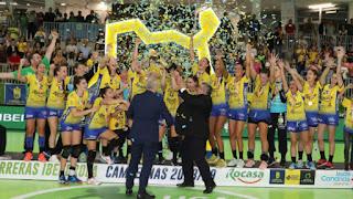 BALONMANO - El Rocasa Gran Canaria se desquita alzando su primera Liga Iberdrola