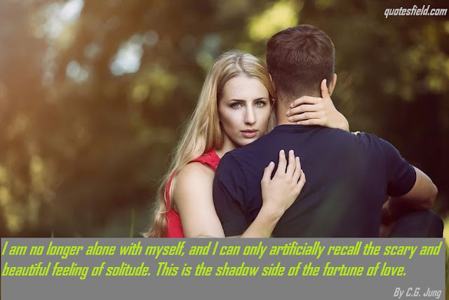 Romantic love quotes for him, Love Is When You Quotes