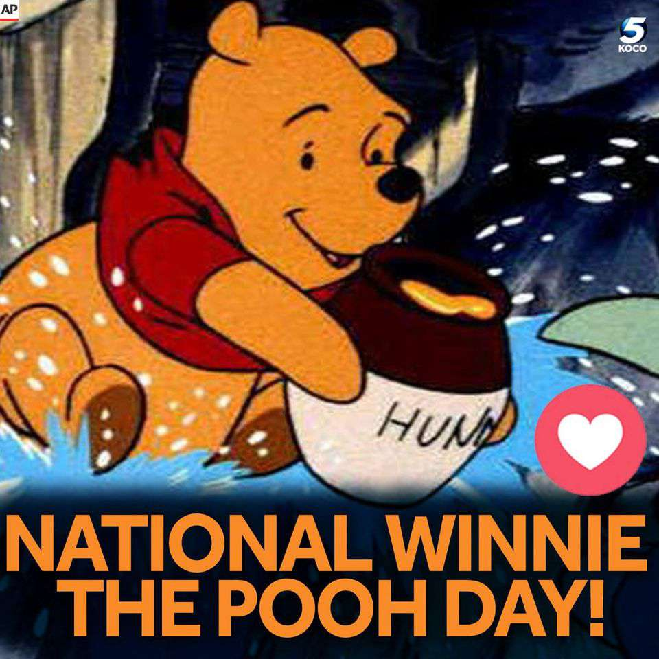 National Winnie the Pooh Day Wishes Awesome Picture