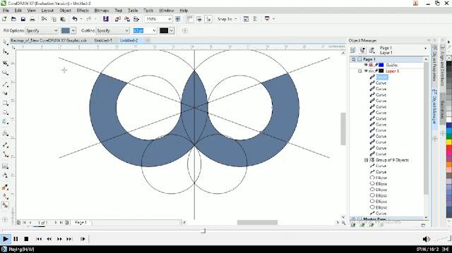 Free File : Cara Membuat logo Keren Burung Hantu Illustrator Dan Corel