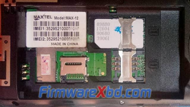 Maxtel Max-12 MT6261 Flash File Download