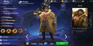 Set Build Item Emblem, Ability, Gear Roger Terbaik