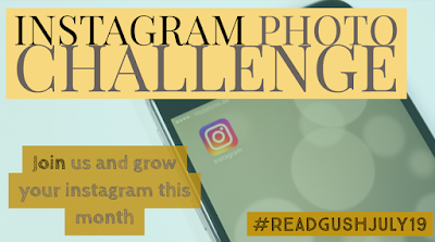 ReadGushJuly Emoji challenge for bookstagrammers and Book bloggers