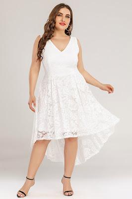 plus-size-white-lace-dress