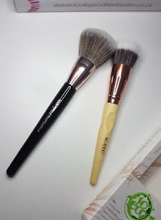 Look Good Feel Better Blush Brush and So Eco Stippling Brush