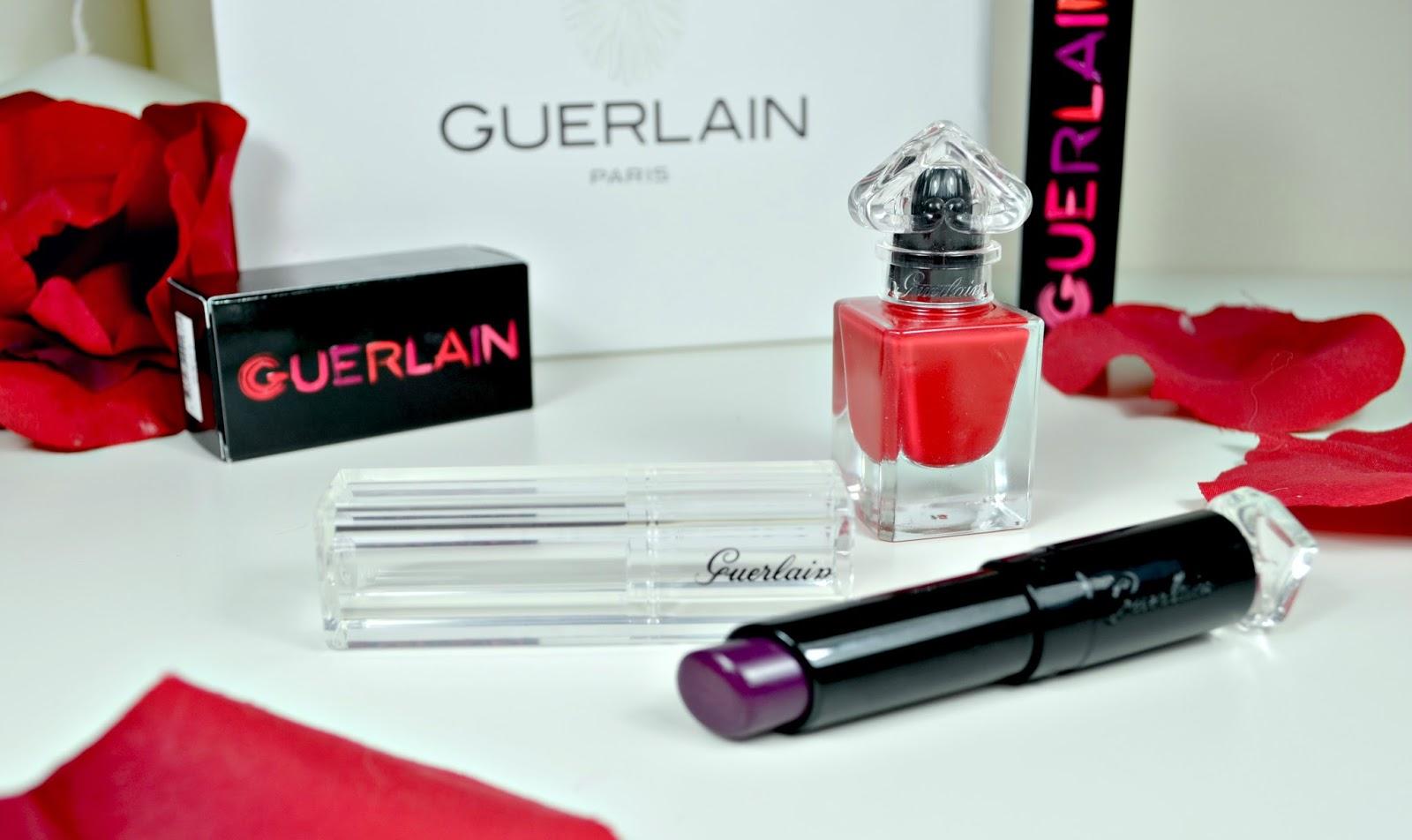 0e7cba74205 Guerlain - Spring 2016 range - La Petite Robe Niore - Lipstick - nail  varnish -