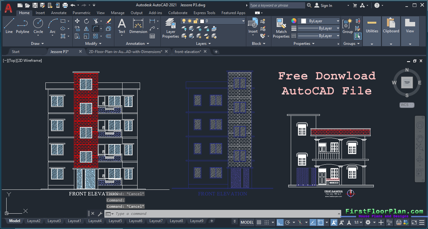 Most Important Tips to Draw Front Elevation Designs in AutoCAD