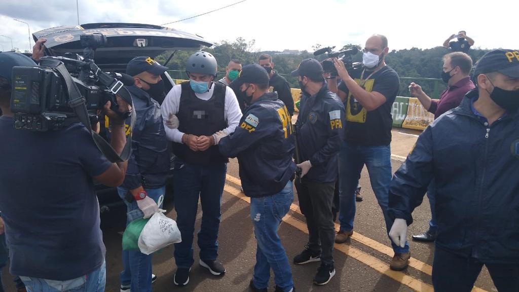 """Extraditaron al """"Pato"""" Cabrera desde Brasil, donde estaba detenido desde enero por violencia de género"""