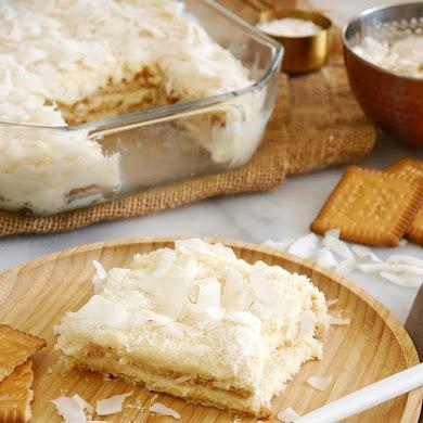No-Bake Coconut Pudding Recipe
