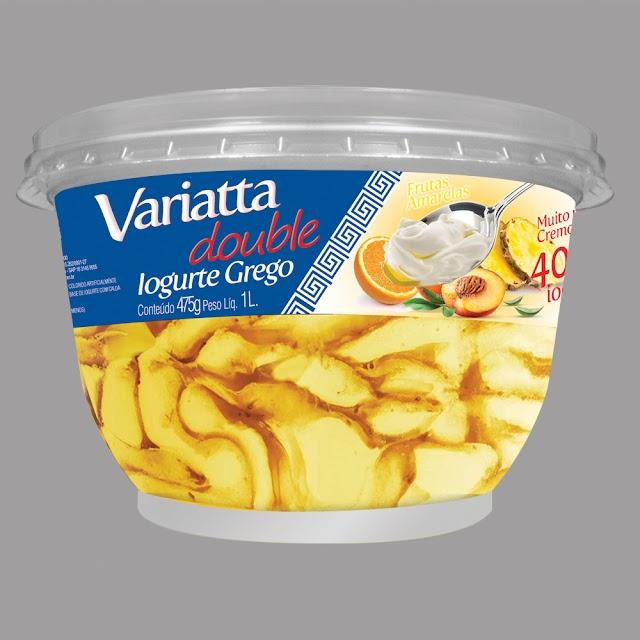 Perfetto lança sorvete de iogurte grego com frutas amarelas