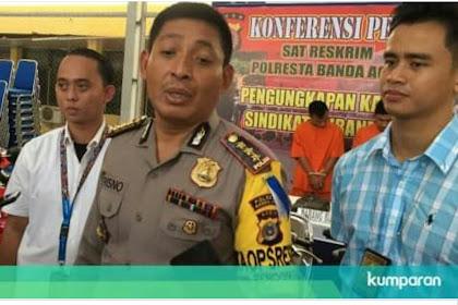 Polresta Banda Aceh Kageudrop Sidroe Anggota Nyang Peububar Konser Base Jam
