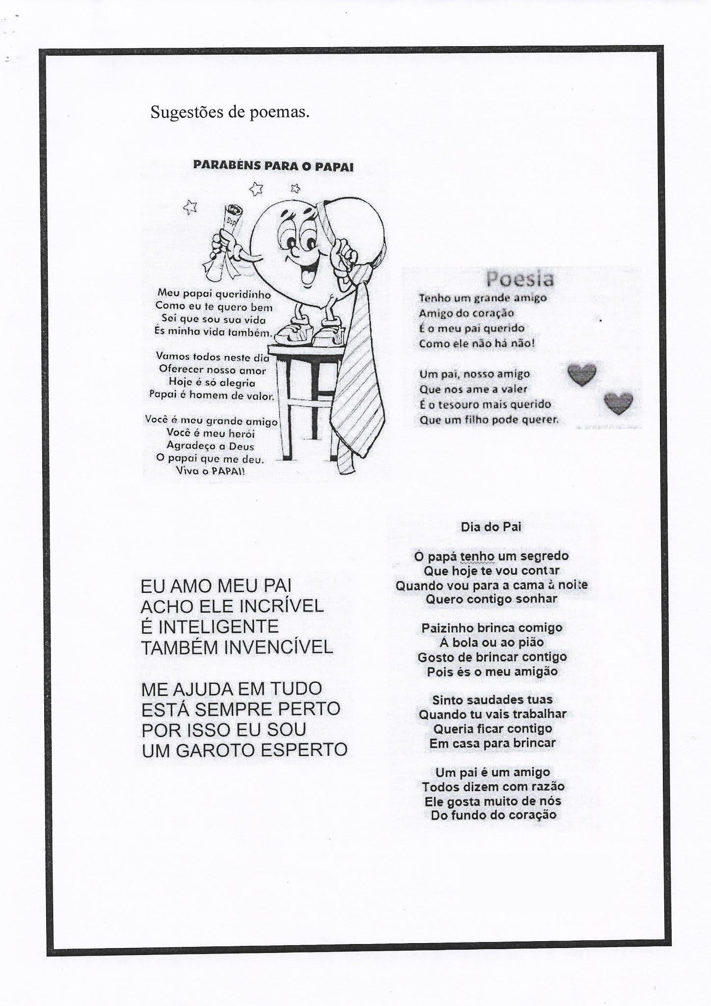 Atividade de Português: Gênero textual poema e letra inicial maiúscula
