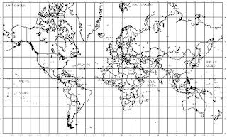 خريطة العالم اوتوكاد