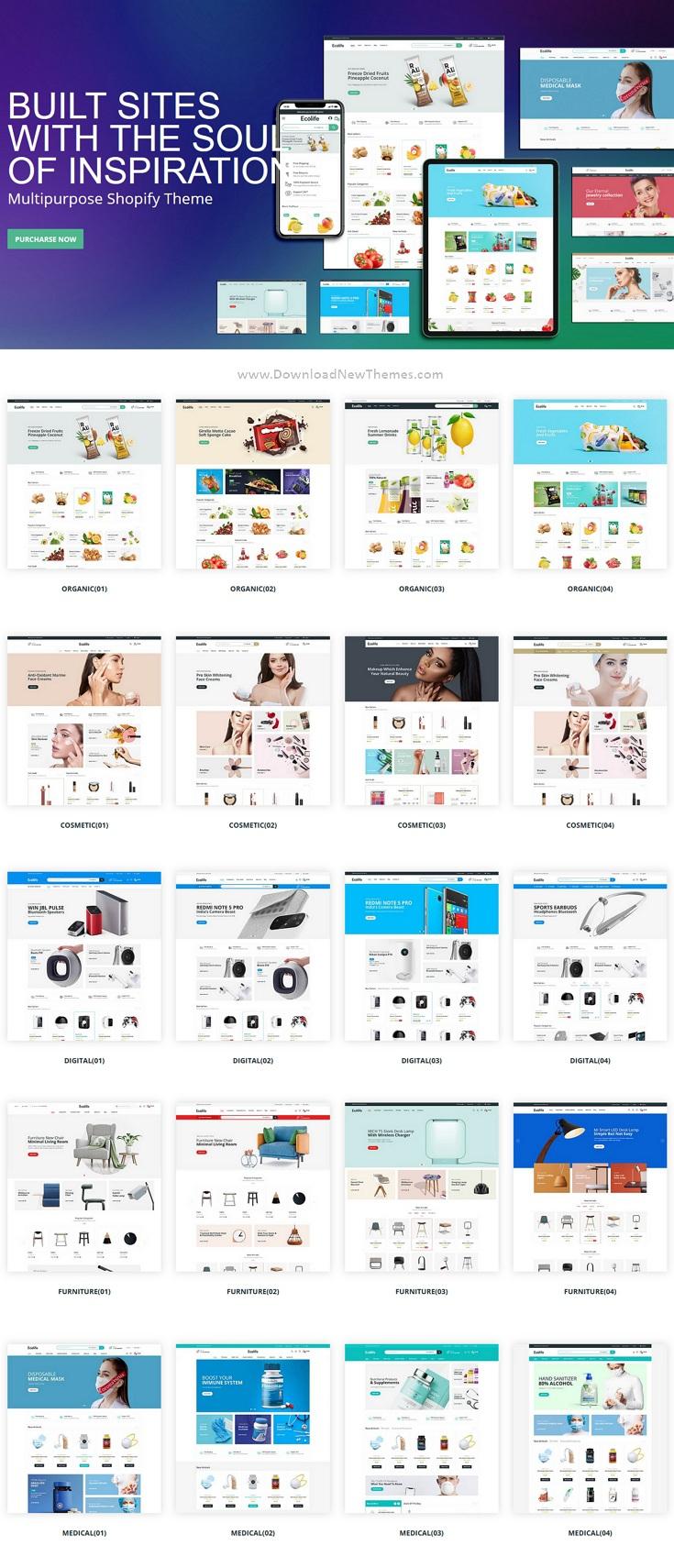 Multipurpose eCommerce Shopify Theme