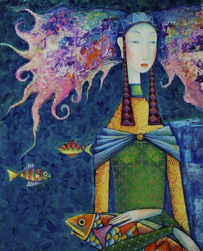 Монгольский художник. Заясайхан Самбуу 2
