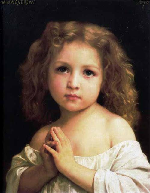 Адольф Вильям Бугро - Молитва (1878)