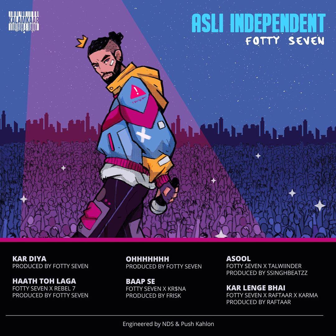 Fotty Seven : kar diya ft.Indipendent EP Listen