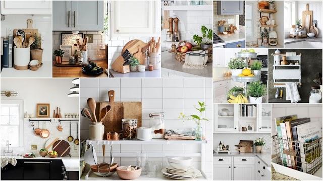 Πάγκος Κουζίνας: Επιφάνεια εργασίας ή ...διακοσμητική βιτρίνα;