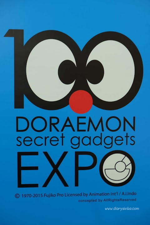 100 Doraemon Secret Gadgets Expo di Surabaya