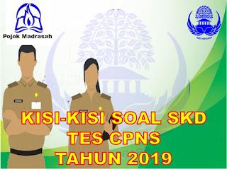 Kisi-kisi soal skd cpns 2019