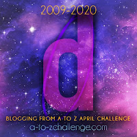 #AtoZChallenge 2020 Blogging from A to Z Challenge letter D
