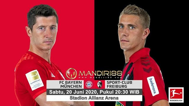 Prediksi Bayern Munchen Vs SC Freiburg, Sabtu 20 Juni 2020 Pukul 20.30 WIB @ Mola TV