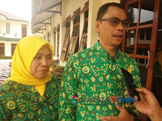 Ketua Hakli Kabupaten Sukabumi dan Kasubag Perencanaan dan Evaluasi Kesehatan Dinkes Kab. Sukabumi