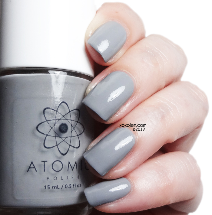 xoxoJen's swatch of Atomic Polish V (Vanadium)