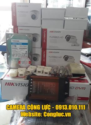 thiết bị camera an ninh Hikvision