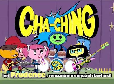 Cha-Ching kids at home