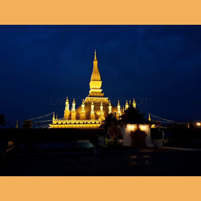 Tat Luang in the Evening