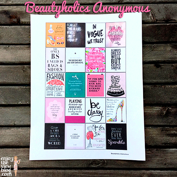 Free Planner Printables from Beautyholics Anonymous