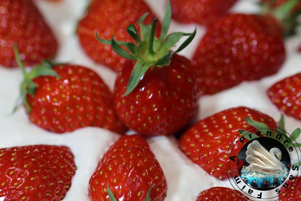 Gâteau suédois aux fraises