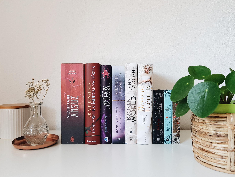 Bücherblog. Neuzugänge Bücher. Jugendbuch. Fantasy. August 2021.
