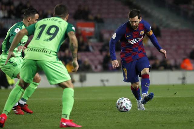 Video Barcelona 5-0 Leganes: Đáp lời Real, Messi rực sáng