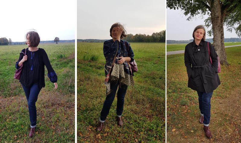 Tunika, Hägelweste, Trench und Plaid - Mode im Herbst 2018