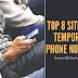 Top 8 Best Sites to Receive SMS Online for Free via Temporary Phone Numbers