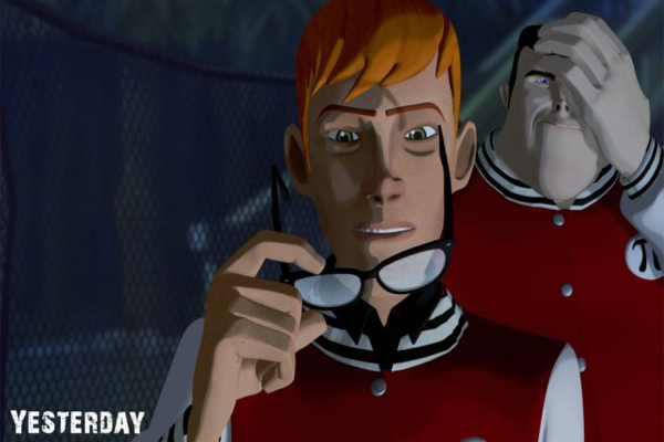 Screen Shot Of Yesterday (2012) Full PC Game Free Download At worldofree.co